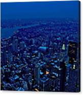 Empire State Of Mind Cold  Canvas Print