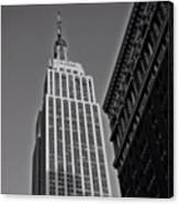 #empirestate #empire #usa #newyorker Canvas Print