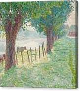 End Of August Canvas Print