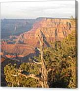 End Of Grand Canyon Day Canvas Print