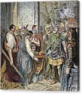 End Of Roman Empire Canvas Print