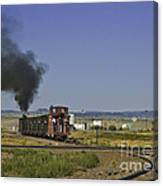 End Of Standard Gauge Canvas Print
