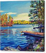 End Of Summer Canvas Print