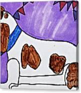Endearing Friend Canvas Print