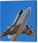 Endeavour's Last Flight Canvas Print
