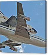 Endeavour's Last Flight Iv Canvas Print