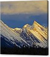 Endless Chain Ridge, Icefields Parkway Canvas Print