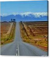 Endless Country  Road Canvas Print