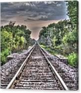 Endless Tracks Canvas Print