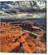 Endless Utah Canyons Canvas Print