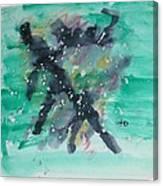 Energy Of The Sea Canvas Print