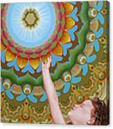 Enfant Soleil Canvas Print
