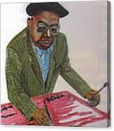 Engelbert Mveng Canvas Print