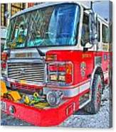 Engine 34 Readied Up Canvas Print