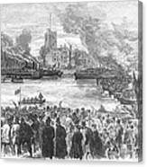 England: Boat Race, 1869 Canvas Print