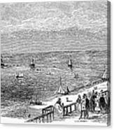 England: Brighton, 1853 Canvas Print