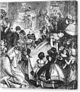 England: Christmas Party Canvas Print