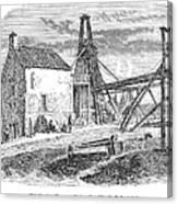 England: Coal Mining Canvas Print