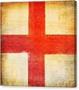 England Flag Canvas Print