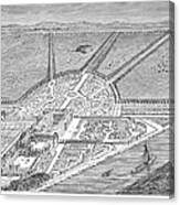 England: Hampton Court Canvas Print