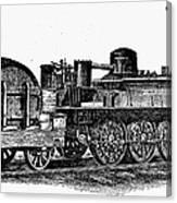 England: Locomotive, C1831 Canvas Print