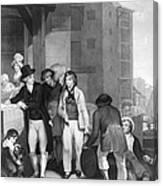 England: Merchant, 1800 Canvas Print