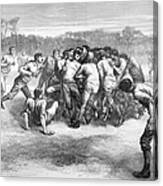 England: Rugby (1871) Canvas Print