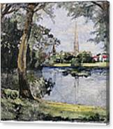 England: Salisbury Canvas Print
