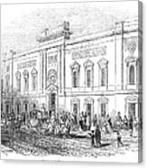 England: Theatre, 1843 Canvas Print
