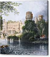 England: Warwick Castle Canvas Print