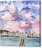 English Bay Canvas Print