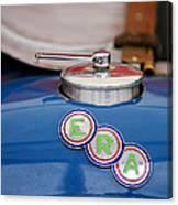 English Racing Automobile Hood Emblem Canvas Print