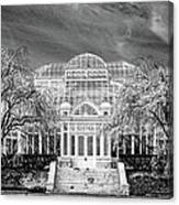 Enid A Haupt Conservatory  Canvas Print