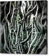 Entangled Worlds Canvas Print