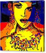 Entertainer Canvas Print