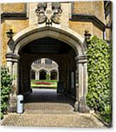 Entrance To Cecilienhof Palace Canvas Print