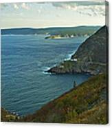 Entrance To St. John's Harbour Canvas Print
