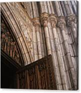Entrance To St. Patrick's  Canvas Print