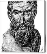 Epicurus (343?-270 B.c.) Canvas Print
