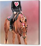 Equestrian Competition Canvas Print