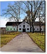 Erdenheim Farm Equestrian Stable Canvas Print