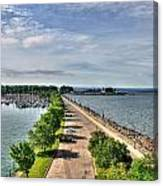 Erie Basin Marina Summer Series 0001 Canvas Print