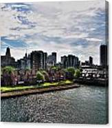 Erie Basin Marina Summer Series 0002 Canvas Print