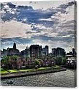 Erie Basin Marina Summer Series 0005 Canvas Print