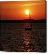 Erie Basin Sunset 3579 Canvas Print