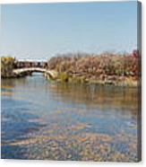 Erie Canal Panorama Canvas Print