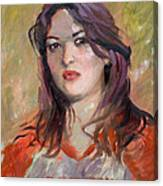 Eriola Canvas Print