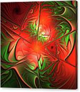 Eruption - Abstract Art Canvas Print