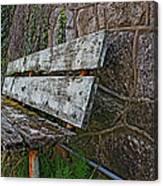 Esp Bench  Canvas Print