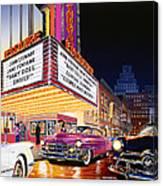 Esquire Theater Canvas Print